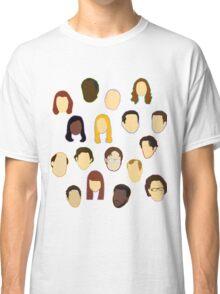 The Office Heads - Custom Lt Purple/Lavender Classic T-Shirt
