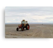 Mongolian Tractor Canvas Print