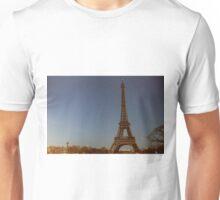 the eiffel tower in paris  Unisex T-Shirt