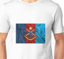 Australian Defence Force - ADF Joint Services Emblem over Flag Unisex T-Shirt
