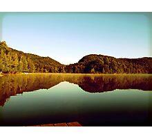 Lake landscape Photographic Print