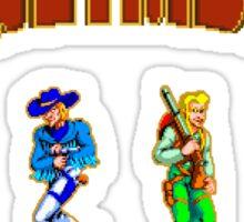 16 bit outlaws Sticker
