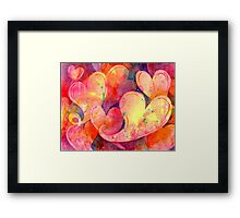 Full of Love Framed Print