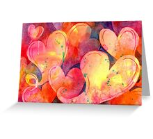 Full of Love - Greeting Card Greeting Card