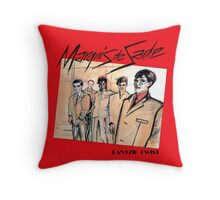 Marquis de Sade - Danzig Twist Throw Pillow