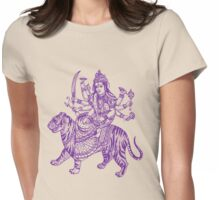 DURGA-4 Womens Fitted T-Shirt