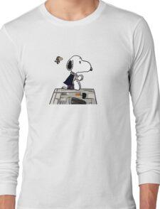 Snoopy Han Solo Long Sleeve T-Shirt