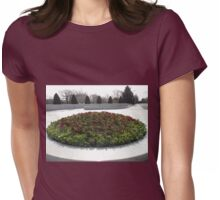 Spring Flowerbed Womens Fitted T-Shirt