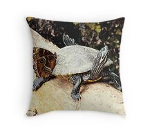 Hitchhiker. Throw Pillow