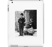 Charlie Chaplin photo iPad Case/Skin