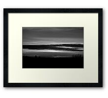 Commuter Sunrise Framed Print