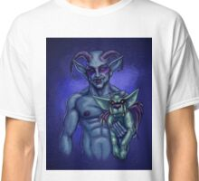 Demon with Dog Classic T-Shirt