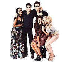 The Vampire Diaries Cast Photographic Print
