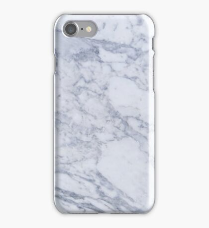 cool tones marble iPhone Case/Skin