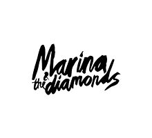 Marina and the Diamonds - The Family Jewels Logo by takingmytime