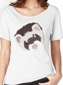 Ferret head Women's Relaxed Fit T-Shirt