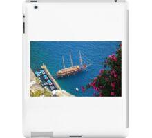 Santorini Island Greece iPad Case/Skin