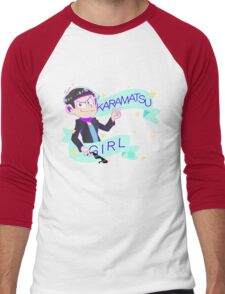 Karamatsu Girl Men's Baseball ¾ T-Shirt