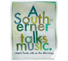 Quote by Mark Twain Poster