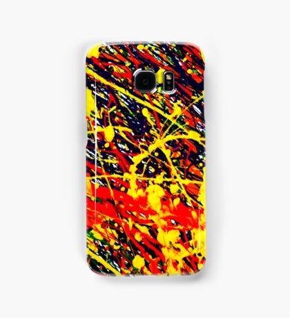 Abstract Jackson Pollock Painting Original Art Titled: Splatter Wild Samsung Galaxy Case/Skin