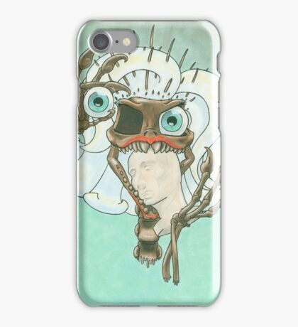 Skeletal Needles: Paleontology iPhone Case/Skin