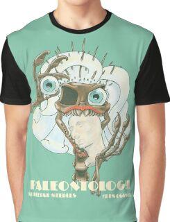 Skeletal Needles: Paleontology Graphic T-Shirt