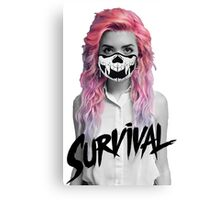 Survival Canvas Print