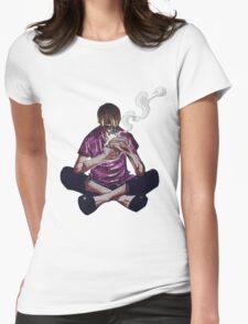 sanji skypiea Womens Fitted T-Shirt
