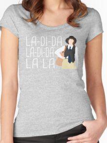 La-Di-Da Annie Hall Women's Fitted Scoop T-Shirt