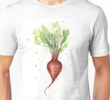 Red Beet Watercolor Unisex T-Shirt