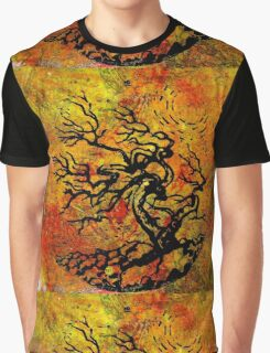 Old and Ancient Tree - Autumn Shades  Graphic T-Shirt