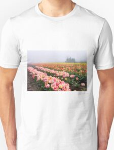 Pink tulips and tractor T-Shirt