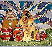 Easter Eggstravaganza by Jolanta Anna Karolska / Artbyjolla