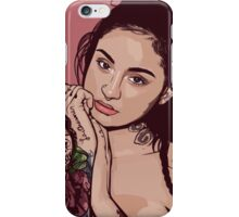 Kehlani - Digital Art iPhone Case/Skin