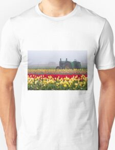 Yellow tulips and tractors T-Shirt
