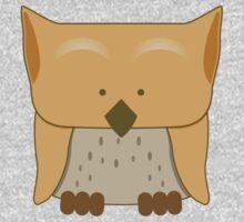 So cute Owl in orange Baby Tee
