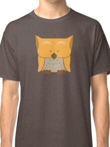 So cute Owl in orange Classic T-Shirt