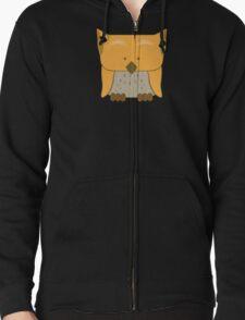 So cute Owl in orange T-Shirt