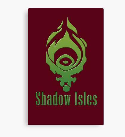 Shadow Isles Canvas Print