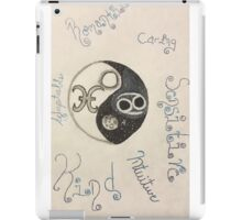 Pisces and Cancer iPad Case/Skin