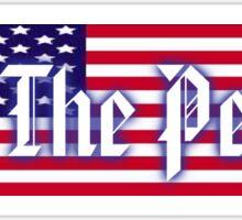Bumper Sticker 2016 Series: We The People Sticker