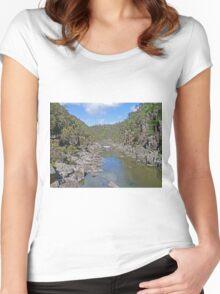 Cataract Gorge, Launceston Women's Fitted Scoop T-Shirt