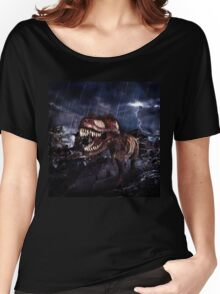 T-Rex Rampage Women's Relaxed Fit T-Shirt