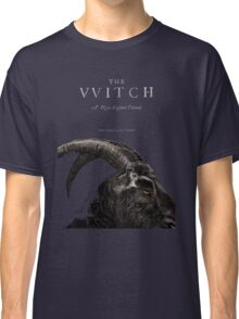 The Witch stylized as The VVitch horror movie Classic T-Shirt