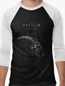 The Witch stylized as The VVitch horror movie Men's Baseball ¾ T-Shirt