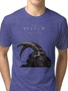 The Witch stylized as The VVitch horror movie Tri-blend T-Shirt