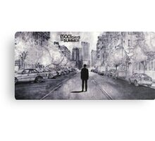 (500) Days of Summer- Lonely Tom Sketch Metal Print