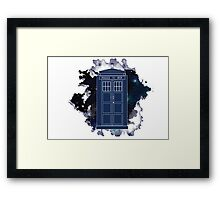 Dr. Who - Universe Framed Print