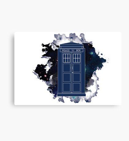 Dr. Who - Universe Canvas Print
