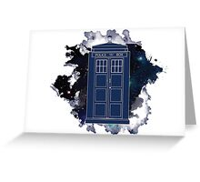 Dr. Who - Universe Greeting Card